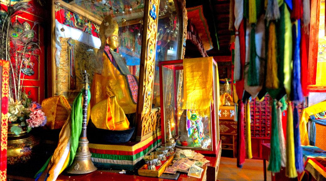 モンゴル チベット仏教