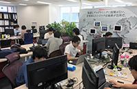 東京本社の雰囲気はこんな感じです。