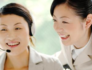 コールセンターや営業事務などお客様対応の経験が活かせます!